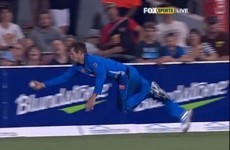 VIDEO: Kane Richardson's sensational outfield catch