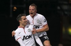 VIDEO: Van Persie scores wonder goal to rescue United