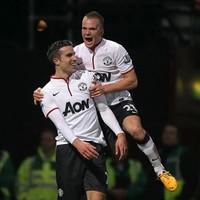 VIDEO: Van Persie scores wonder goal to rescue United