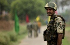 Pakistani and Indian troops exchange fire in Kashmir