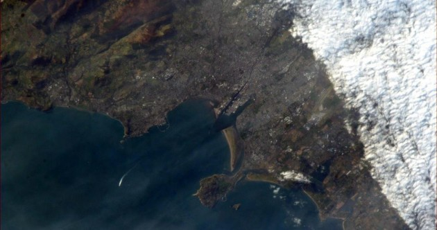 Pic: This is what Dublin looks like from space