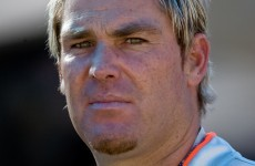 VIDEO: It's just not cricket as Warne and Samuels go toe-to-toe