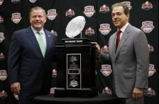 Notre Dame v Alabama, BCS National Championship preview