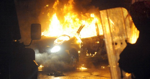 Fourth night of violence in East Belfast as flag protests continue