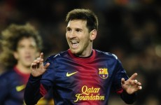 Lionel Messi on target for fourth Ballon d'Or