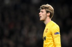 The Departures Lounge: Has Fergie lost faith in De Gea?