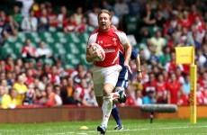 Wales's Morgan Stoddart retires due to injury