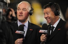 ESPN commentator Jon Champion earns 'a talking to' for Suarez cheat talk