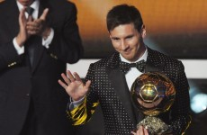 'To tell you the truth this is really quite unbelievable' -- Delighted Messi surprised by honour