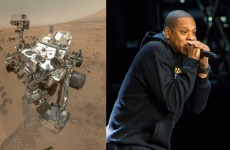 So the Mars Curiosity Rover likes listening to Jay Z...