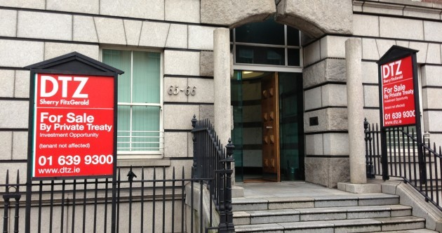 Fancy working next to Fianna Fáil? Offices housing party HQ up for sale