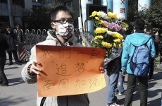 China censorship prompts rally, online protest