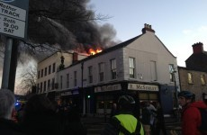 PICTURES: Fire services attend blaze in Ranelagh restaurant