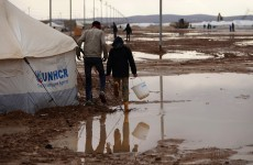 Torrential rains hit desert Jordan, floods sweep Middle East