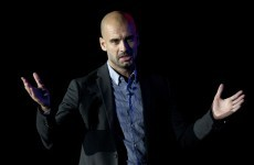 I'll be back -- Pep Guardiola says he'll return to the sideline next season