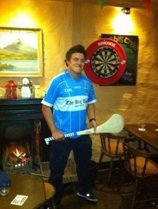 Snapshot: Brax from Home and Away togs out in a Westport GAA jersey