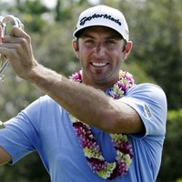 Season's greetings: Johnson clinches win in weather-bashed Hawaii