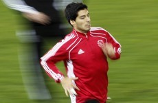 On his way: Liverpool agree €26.5million Suarez transfer