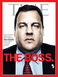 PIC: New Jersey governor hailed as 'The Boss' on TIME magazine cover