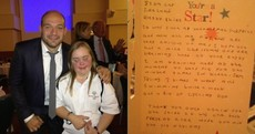 'You're a star' -- Special Olympics athlete's thank-you letter to Rory Best will make your day
