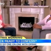 'No question off-limits' when Oprah, Armstrong meet