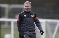 Manchester United v Liverpool: Paul Scholes still gets a kick out of Red rivalry