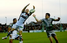 Heineken Cup: O'Halloran return softens Parks blow for Connacht