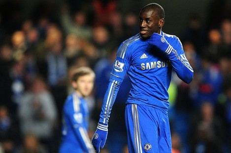 Chelsea's Demba Ba.