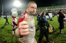 Job done: But Anscombe promises Ulster will add finishing touch in France