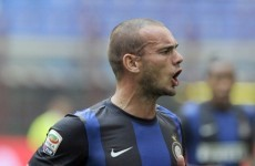 Arrivederci: Sneijder set for Serie A exit