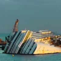 PHOTOS: One year later, Costa Concordia still not removed from scene of disaster