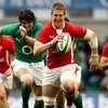 Mixed fortunes: Welsh lock Davies is latest doubt for 6 Nations