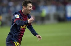 Messi keeps Barca 11 points clear at halfway stage