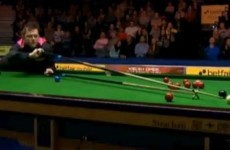 VIDEO: Mark Allen raises a laugh at Ally Pally thanks to this effort with the rest...