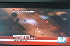 WATCH: The best police chase video you'll see today