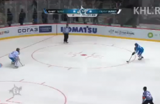 VIDEO: Cheeky ice hockey penalty leaves goaltender scratching his head