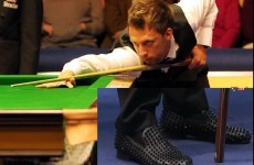 Appalling shoe choice almost costs Trump at the London Masters