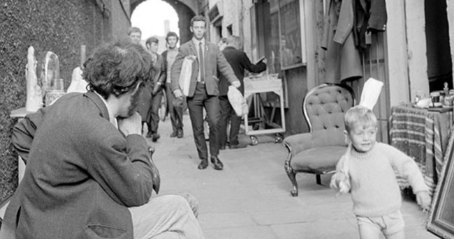 'Busiest boy in Dublin' finally identified... 44 years after photo