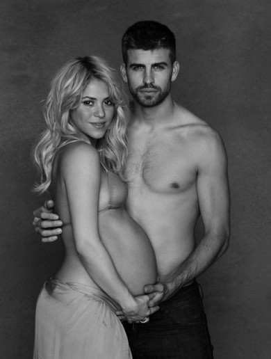 Your Gerard Pique And Shakira Baby Bump Photo Of The Day