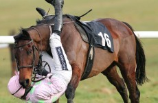 In pictures: Ruby Walsh hangs on for dear life but is eventually unseated in Thurles