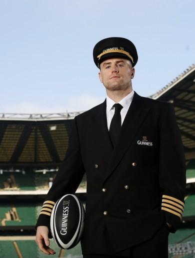'I still outrank you, son': Heaslip born for leadership role