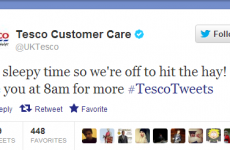 Eh Tesco, did you mean to tweet this?