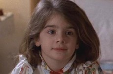 It's the little girl from Field of Dreams and Uncle Buck, all grown up