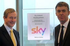 Sky to invest €1bn in Ireland as Dublin HQ officially opens