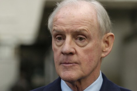 Beef baron Larry Goodman, pictured after attending the Mahon Tribunal in 2004.