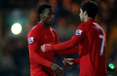 VIDEO: Check out this lovely Daniel Sturridge dummy and Luis Suarez finish
