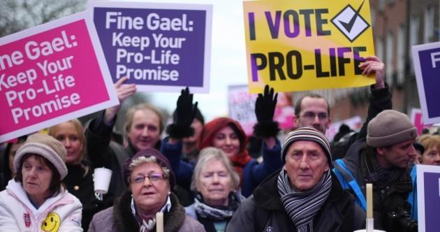 Pics: Thousands attend pro-life vigil in Dublin
