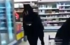 Video: Here's what happened when someone dressed as a horse went to Tesco