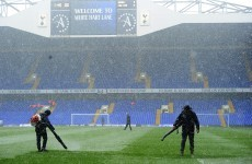 Spurs v Man United gets the go-ahead after bad weather threatens fixture