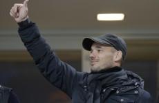 Turkish delight: Sneijder bound for Galatasaray